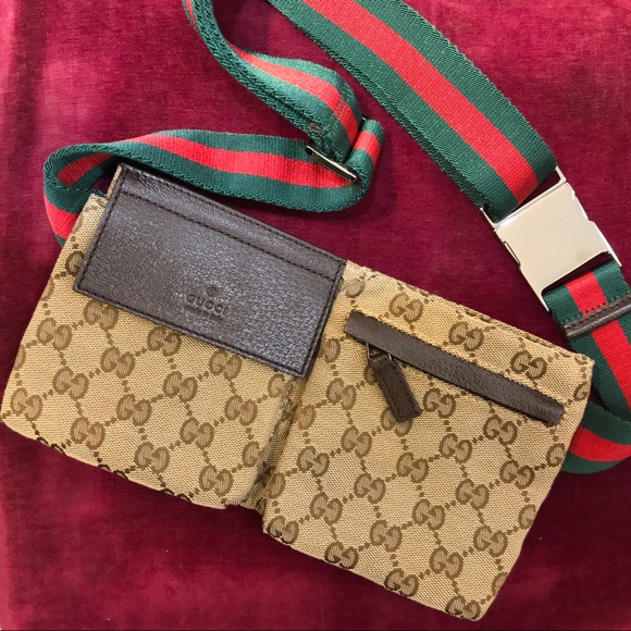28d3b2d50f731e Gucci Bags | Authentic Canvas Waist Bag | Poshmark